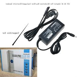 15V 3A AC Adapter For Brookstone Big Blue Unplugged Wireless