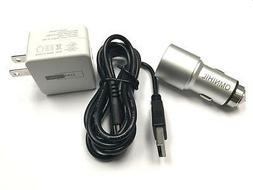 OMNIHIL 2-Port USB Car and Wall Charger for JAM THRILL WIREL
