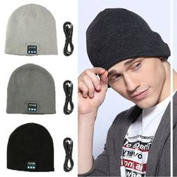 2018 Soft Warm Beanie Hat Bluetooth Smart Cap Wireless Headp