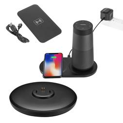 2in1 Speaker+Phone Qi Wireless Charging Dock Charger For B0s