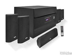 5.1 Channel Ultimate Home Theater System Speakers AM/ FM Tun
