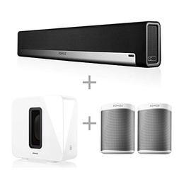 Sonos 5.1 Home Theater System with Pair of Play:1  Bundle wi
