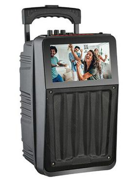 """Supersonic 8"""" Rechargeable Speaker System with 8"""" Touchscree"""