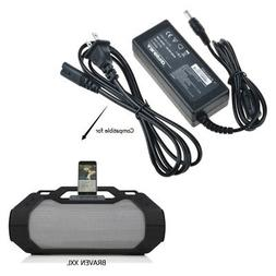 AC-DC Adapter Charger for Braven BRV-XXL Wireless Speaker Po