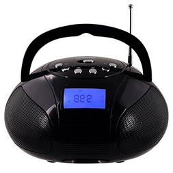 Mini Radio Clock, Bluetooth Speakers MP3 Stereo System Porta