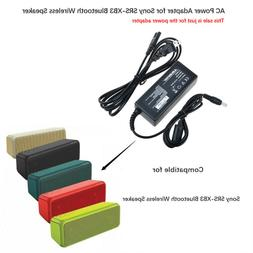 Ablegrid AC DC Power Adapter Charger for Sony SRS-XB3 Blueto