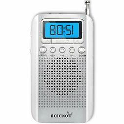 One Day Sale!- Digital AM/FM Portable Pocket Radio with Alar