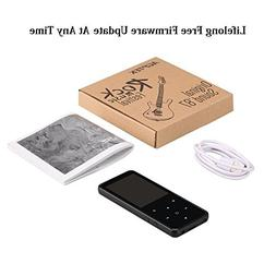 AGPTEK Bluetooth 4.0 MP3 Player with 2.4 Inch TFT Color Scre