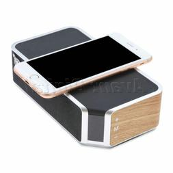 Bluetooth 4.0 Wireless Speaker With Qi Wireless Charger For