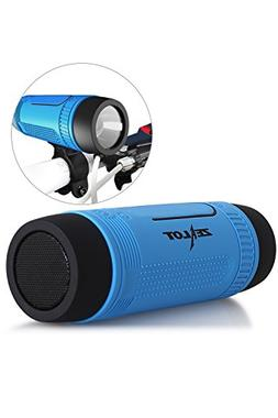 Bluetooth Speaker for Bicycle Torch Light Power Bank Waterpr