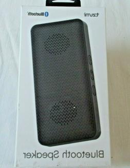 Tzumi Bluetooth Speaker Black Rechargeable Battery Powerful