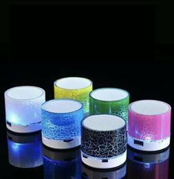 Mini Bluetooth Speaker LED Wireless Speaker Compatible With