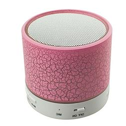 Bluetooth Speaker Wireless LED Colorful Portable Speaker Sup