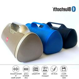 bluetooth speaker wireless super bass portable usb