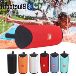 Bluetooth Wireless Speaker Portable Subwoof Rechargeable Wat