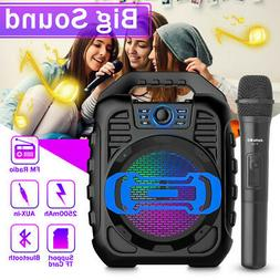 bluetooth Wireless Stereo Speaker Big Drive Super Bass FM AU