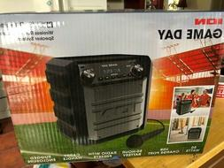 BRAND NEW IN BOX ION GAME DAY WIRELESS RECHARGEABLE SPEAKER