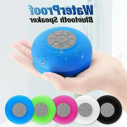 Bluetooth Wireless Speaker Waterproof Mic Mini Resistant Sho