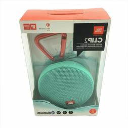 JBL Clip 2 Waterproof Portable Bluetooth Speaker NEW - Green
