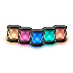 iHOME COLOR CHANGING RECHARGEABLE WIRELESS SPEAKER - iBT68BC