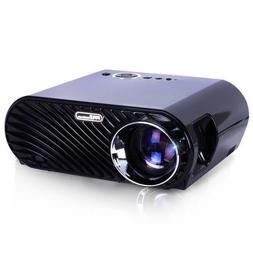 Compact Color Pro Digital Projector, HD 1080p Support, Built