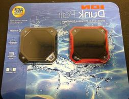 ION Dunk Pair Portable Waterproof Wireless Bluetooth Speaker