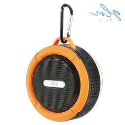 gln waterproof bluetooth shower speaker portable wireless