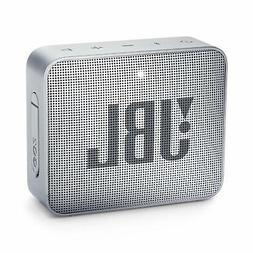 go 2 portable bluetooth waterproof speaker grey