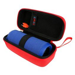 Khanka Hard Case Portable Bag for JBL Flip 3 & Flip 4 Waterp
