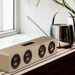 Wireless bluetooth Speaker Hi-Fi 3D Loud Quad  Super Bass Wo