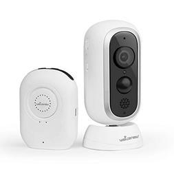 Home Security Camera System 1080P HD Wire-Free Wansview, Wir