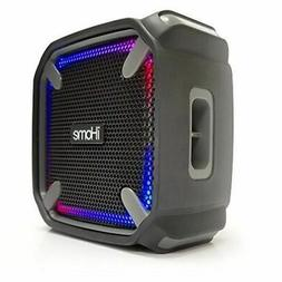 iHome iBT371 Weather Tough Portable Rechargeable Bluetooth S