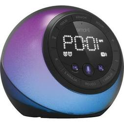 iHome iBT297 Bluetooth Alarm Clock Radio and Color Changing