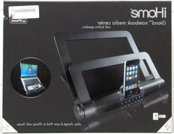 iHome iStand Notebook Media Center with Built-In Speakers Bl