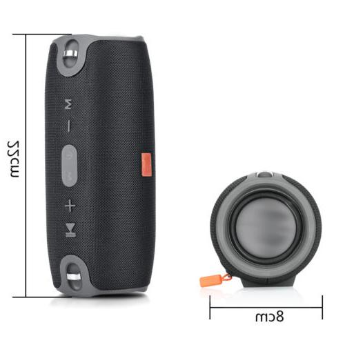 Bluetooth Portable Wireless Bass Stereo MP3
