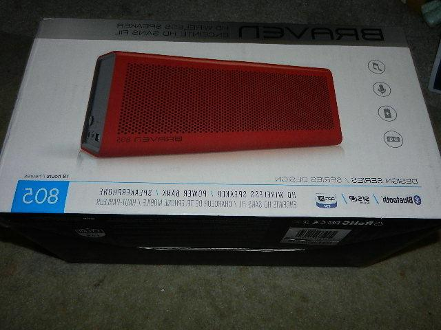 805 red portable wireless bluetooth