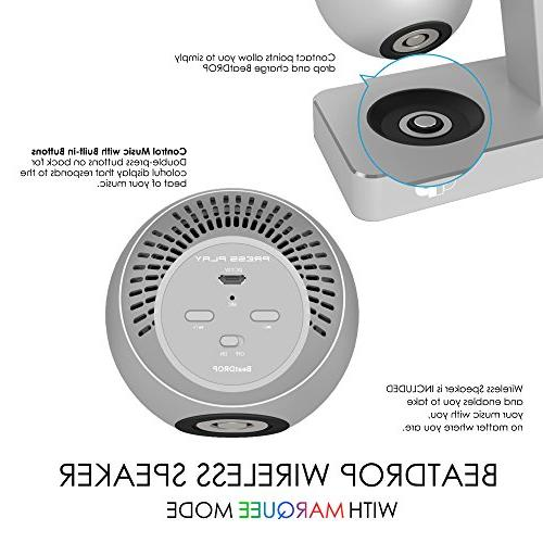 Press Beat Station + Wireless Speaker & for Watch Smart iPhone, iPad & iPod Lightning Connector