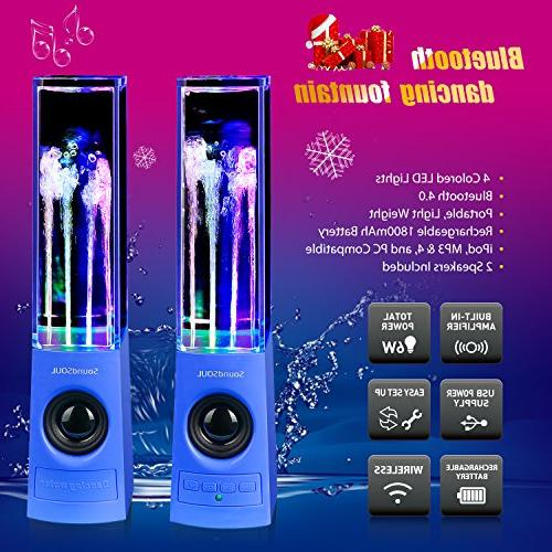 SoundSOUL Speakers Show Fountain LED -