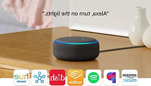 All-new Smart Alexa - Charcoal