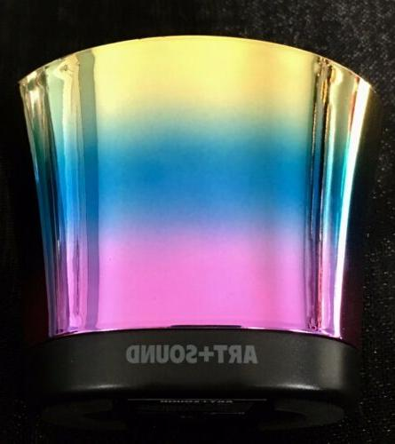 ART& SOUND Iridescent Portable w/Charging Cable,