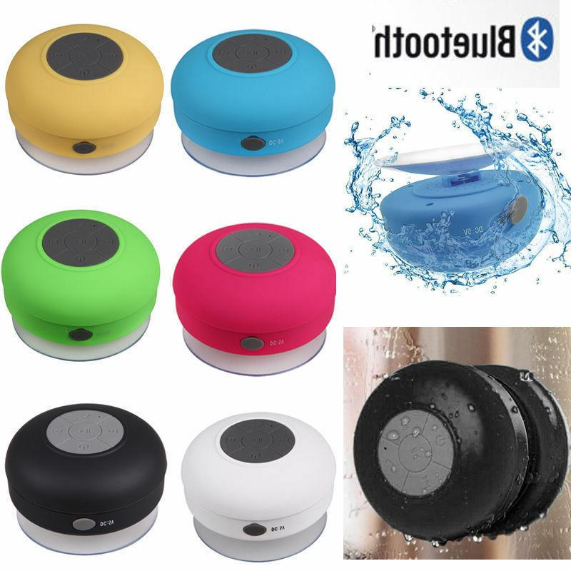 Assorted Lot of Portable Waterproof Wireless Bluetooth Showe