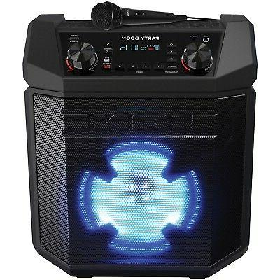 Ion Audio Party Boom Bluetooth Wireless Speaker System 100-W