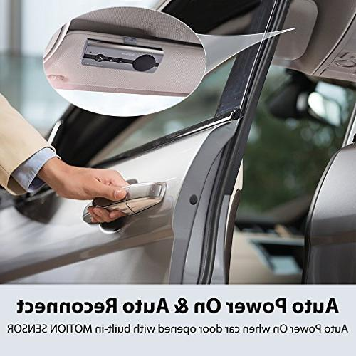 Avantree POWER Hands Free Car Kit Motion Sensor,...