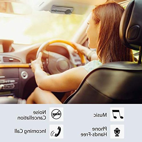 Avantree AUTO ON Hands Bluetooth Car Kit with Motion Sensor,...