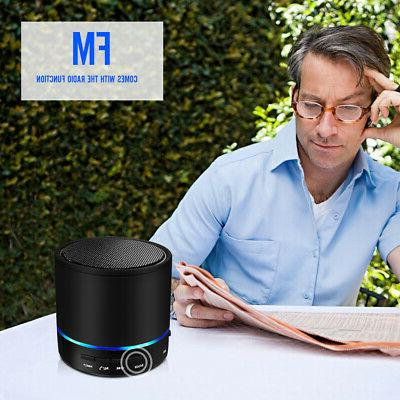 Black Wireless Bluetooth Portable Universial Speaker