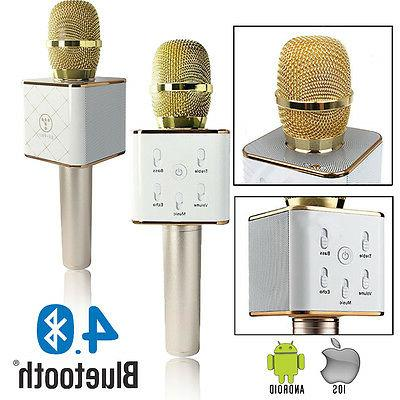 bluetooth 4 0 wireless karaoke microphone dual