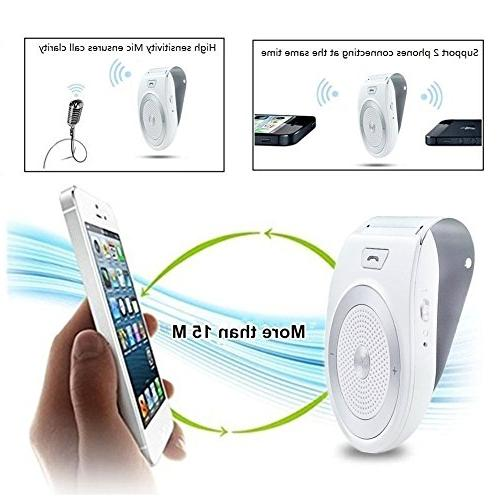 Bluetooth Kit Handsfree, Aigital Wireless AUTO POWER Music Adapter