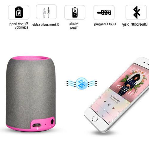Bluetooth Wireless Speakers Charger USB Cable