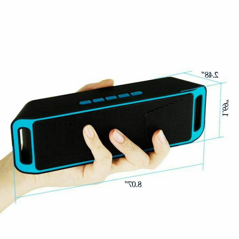 Portable Outdoor USB TF FM Radio Stereo