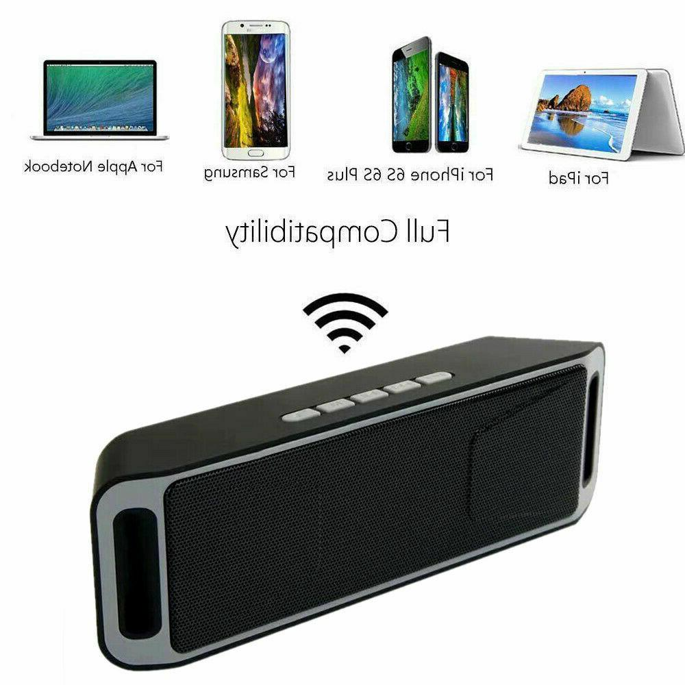 Bluetooth Wireless Speaker Portable USB FM